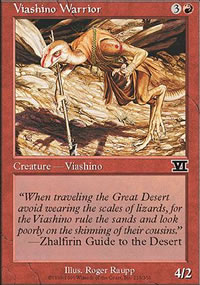 Viashino Warrior - 6th Edition