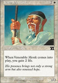 Venerable Monk - 6th Edition