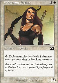 D'Avenant Archer - 6th Edition