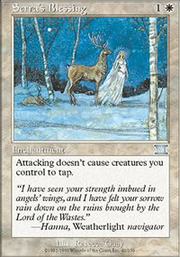 Serra's Blessing - 6th Edition