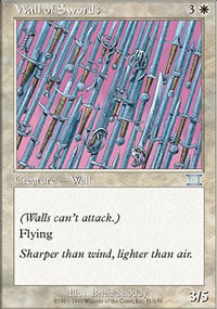 Wall of Swords - 6th Edition