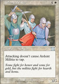 Ardent Militia - 6th Edition