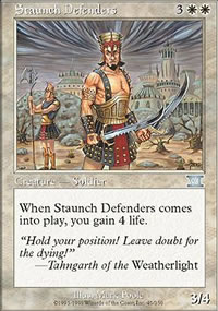 Staunch Defenders - 6th Edition