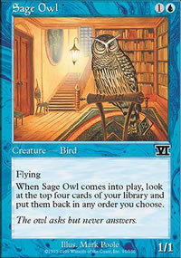 Sage Owl - 6th Edition