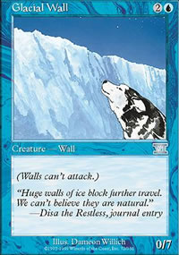 Glacial Wall - 6th Edition