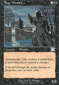 Bog Wraith - 6th Edition