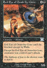 Evil Eye of Orms-by-Gore - 6th Edition