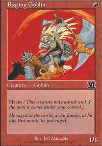 Raging Goblin - 6th Edition