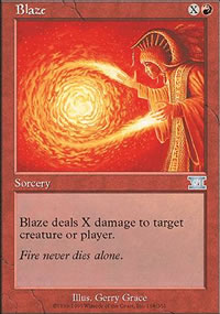 Blaze - 6th Edition
