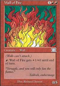 Wall of Fire - 6th Edition