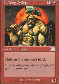 Hulking Cyclops - 6th Edition
