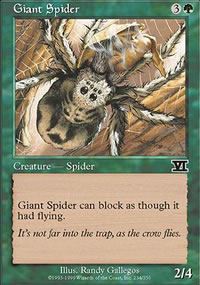 Giant Spider - 6th Edition