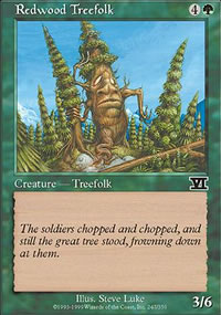 Redwood Treefolk - 6th Edition
