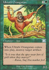 Uktabi Orangutan - 6th Edition