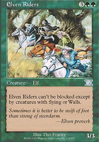 Elven Riders - 6th Edition