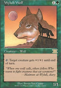 Wyluli Wolf - 6th Edition