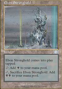 Ebon Stronghold - 6th Edition