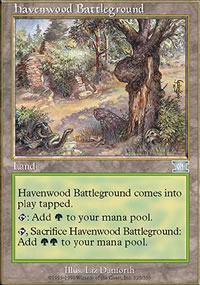 Havenwood Battleground - 6th Edition