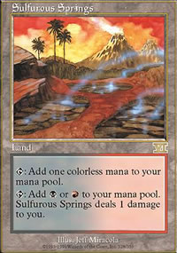Sulfurous Springs - 6th Edition