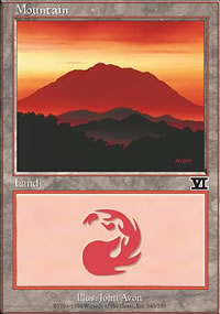 Mountain 1 - 6th Edition