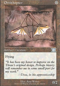 Ornithopter - 6th Edition