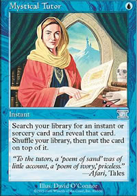 Mystical Tutor - 6th Edition