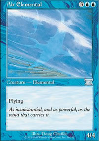 Air Elemental - 6th Edition