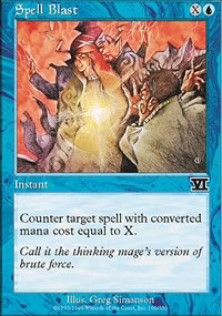 Spell Blast - 6th Edition