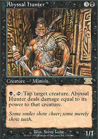 Abyssal Hunter - 6th Edition