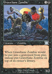 Gravebane Zombie - 6th Edition