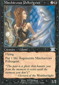 Mischievous Poltergeist - 6th Edition