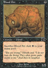 Blood Pet - 6th Edition