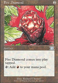 Fire Diamond - 6th Edition