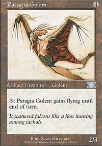 Patagia Golem - 6th Edition
