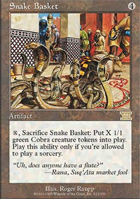 Snake Basket - 6th Edition