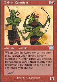 Goblin Recruiter - 6th Edition