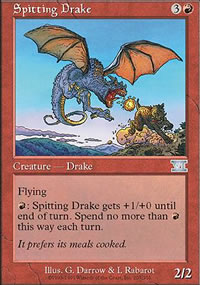 Spitting Drake - 6th Edition
