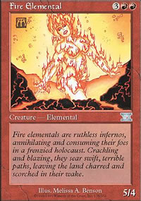 Fire Elemental - 6th Edition