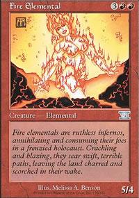 Fire Elemental - 6th Edition
