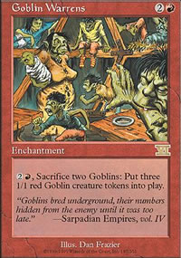 Goblin Warrens - 6th Edition