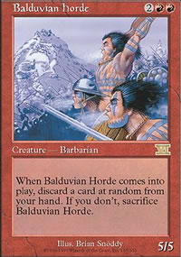 Balduvian Horde - 6th Edition