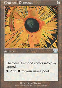Charcoal Diamond - 6th Edition