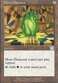 Moss Diamond - 6th Edition