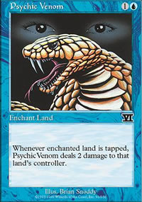 Psychic Venom - 6th Edition