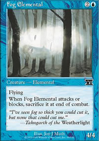 Fog Elemental - 6th Edition