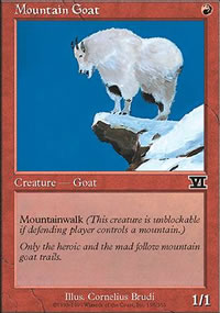 Mountain Goat - 6th Edition