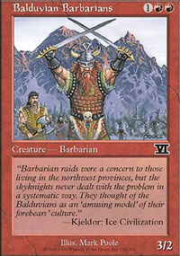 Balduvian Barbarians - 6th Edition