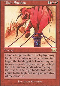 Illicit Auction - 6th Edition