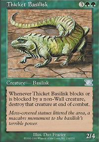 Thicket Basilisk - 6th Edition