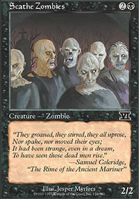 Scathe Zombies - 6th Edition